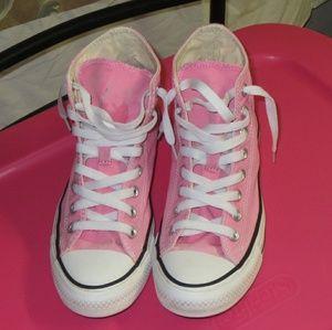 Pink high tops
